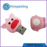 선전용 돼지 USB 플래시 메모리 USB 섬광