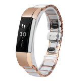 snelle Versie van de Band van het Horloge van 12mm bindt de Ceramische Alle Links Verwijderbaar voor Fitbit Alta vast