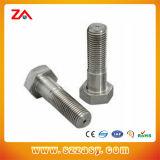 Leite Standarded DIN en acier inoxydable de goujons à tête fendue