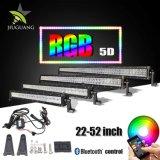 Couleur multi changeant la barre 5D d'éclairage LED de 120W RVB 22inch