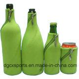 Élégante housse en néoprène double sac de refroidisseur de bouteilles