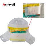 Fralda/tecido respiráveis do bebê da etiqueta confidencial de preço de fábrica