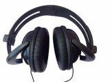 La cuffia collegata fornitore dell'OEM mette in mostra il trasduttore auricolare stereo