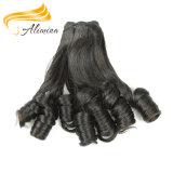 Волосы выдвижения Remy неповрежденной норки надкожицы людские бразильские