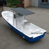 Le ce de bateau de pêche de fibre de verre de bateaux de Panga de Liya 22FT 25FT a reconnu