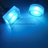 Nouveau support en acrylique LED Downlight encastré 3W RVB