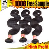 Бразильская цена по прейскуранту завода-изготовителя выдвижений волос объемной волны