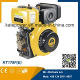 178f del motor diesel refrigerado por aire copia Yanmar 6HP pequeño motor