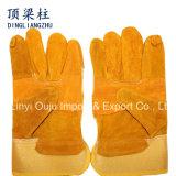 Продает перчатки оптом Split кожи коровы 10.5 дюймов работая для заварки