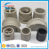 De ceramische Willekeurige Verpakking van de Toren voor de Chemische Ring van het Baarkleed van de Zadels van Toewrs Raschig