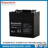 Batería de almacenaje confiable de la potencia de la UPS del AGM de la calidad 12V50ah VRLA