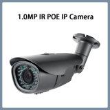 camera van de Veiligheid van kabeltelevisie van het Netwerk van de 1.0MPHD IP Poe de Waterdichte IRL Kogel