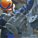 L'acciaio di getto API599 A216 Wcb ha invertito la valvola a rubinetto lubrificata