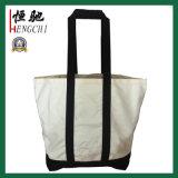 16oz Fashion Shopping en toile de coton sacs pour dames de la poignée