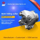 Km-45 grado Face Mill indexables fresadoras para máquina de CNC