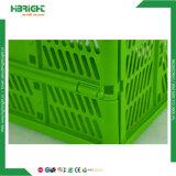 本および小売店のためのプラスチックNestable収納箱の木枠
