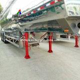 Almacenamiento de combustible de aceite diesel de camiones de transporte semi remolque del depósito de aluminio