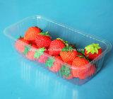 500g borran la bandeja plástica de la fruta del envase de la fresa del animal doméstico