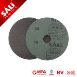 Disco abrasivo rivestito della fibra del carburo di silicone di Sali del grano di buona qualità