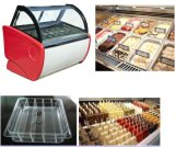 14 Frigideiras Disco Sorvete de congelador de exibição