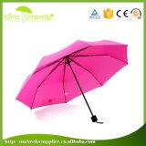 Fördernder Geschenk-im Freiengroßhandelsregen-reflektierender faltender Regenschirm