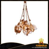 Industrieller hängender Lampen-Hanf-Seil-Kristallleuchter (MD10993-1LS+2SS)