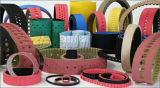 Cintos do tipo Harise variam de acordo com o fornecedor de material de borracha/PU