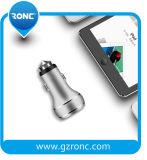 Il caricatore all'ingrosso 5V 3.4A di potere dell'automobile si raddoppia caricabatteria del USB