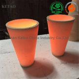 Crogiolo cilindrico a temperatura elevata del laboratorio di Refactory per il crogiolo/coppella di ceramica vetro/metallo della grafite di analisi di fuoco dell'argilla refrattaria dell'oro utilizzati nella fornace di Cupellation