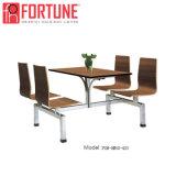 China mayorista de moderno diseño mesa de madera de restaurante y cantina (FOH-CBC08)