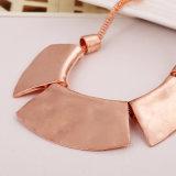 Collana di metalli pesanti, catena del collo placcata retro oro