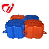 Taizhou Чжецзян Jiachen торт горячей воды HDPE понтон для плавающего режима док-вычислений с плавающей запятой