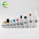 5ml botella de aceite esencial de vidrio blanco para gotero