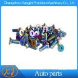 M6x20mm Neo Chrome cóncavo Arandela de guardabarros de acero inoxidable los tornillos de repuesto