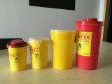 Contenitore di rifiuti medico di /Squre di Sharps del contenitore tagliente rotondo di contenitore