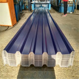 El color de acero corrugado galvanizado recubierto de impermeabilización de cubiertas de Gambia