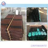 Resistente al agua piedra madera metal revestido de teja para materiales de construcción