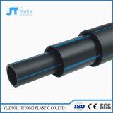 Guarniciones plásticas del HDPE del negro del tubo del polietileno del abastecimiento de agua