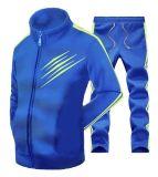 Мужчины с полосами основную часть контакт костюм для бега Sport Jacket костюм