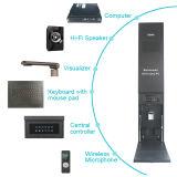 Système de conférence mobile de terminal interactif de multimédia de support de stand