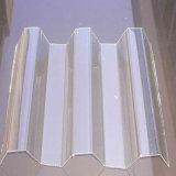 Le plastique flexible couvre la toiture flexible de polycarbonate de feuille ondulée de polycarbonate