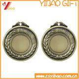 medaglie su ordinazione dell'oro impresse 3D con il nastro (YB-LY-C-48)