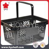 Supermarché Basekt de achat au détail en plastique 28L