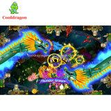Король эксплуатируемый монеткой аркады видео- задвижки звероловства рыб игры океана 3 плюс 8 игроков удя машину игры