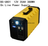 alimentazione elettrica di riserva del litio di 12V 35ah 388wh per il campeggio/UPS domestica della parte di recambio in Cina con le azione