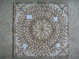 Bella arte del mosaico del marmo della famiglia