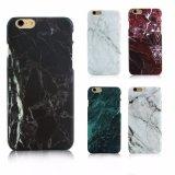 Caja brillante del teléfono de la PC del mármol de la textura dura del granito para el iPhone 6/7