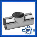 7wwwステンレス鋼の衛生管付属品は短いティーを溶接する