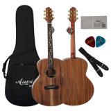 Цена акустической гитары Koa горячего сбывания музыкальное изготовленный на заказ