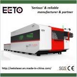 700W Ipg máquina de corte láser de fibra de metal con doble mesa
